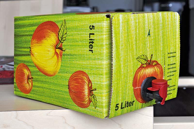 Bag-in-Box Verpackung