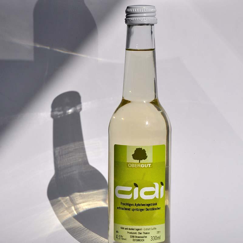 CIDi Apfelweingetränk, OberGut