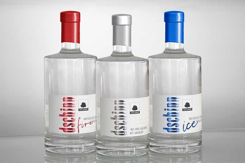 3 Sorten Gin (Dschinn)