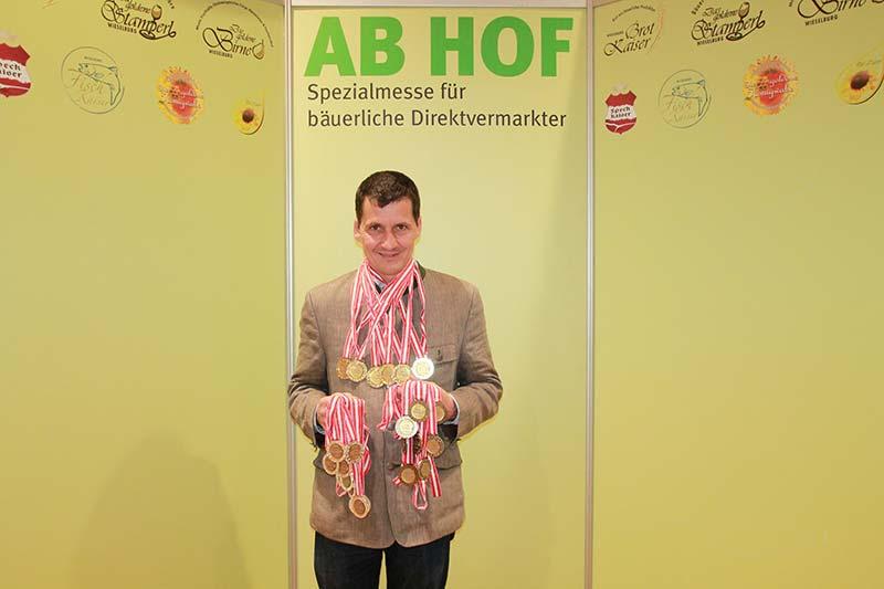 23 Auszeichnungen auf der AB HOF in Wieselburg 2018