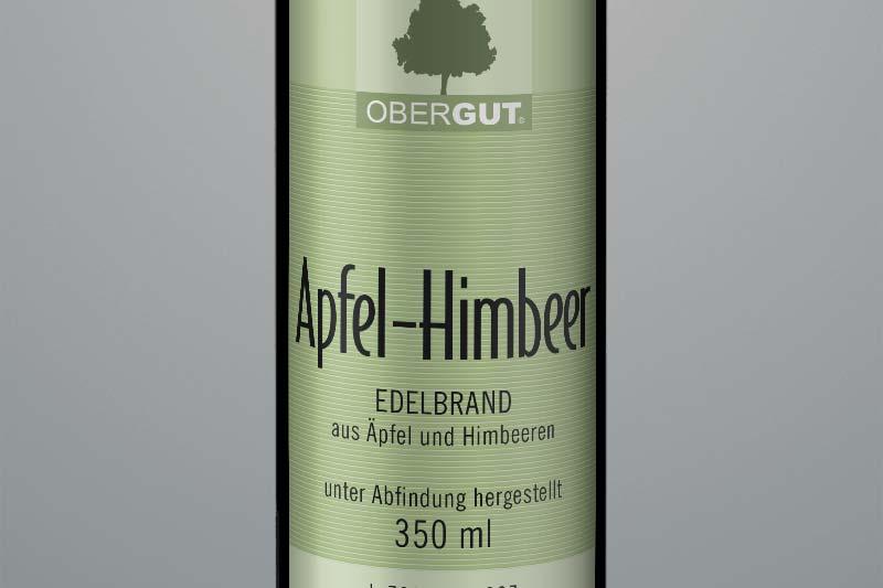 Apfel-Himbeer-Brand