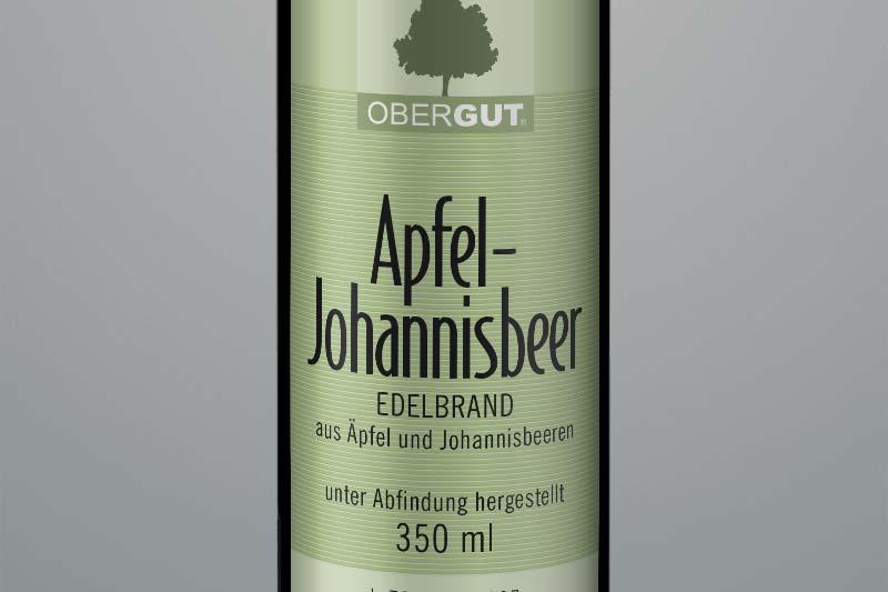 Apfel-Johannisbeer-Brand