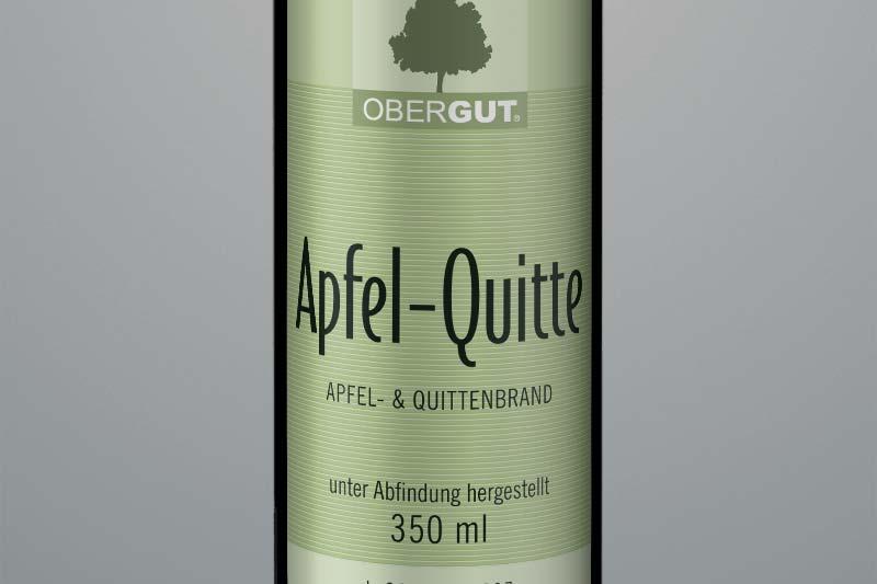 Apfel-Quitte-Brand