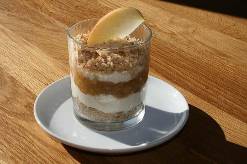 Apfel-Schicht-Kuchen Rezept
