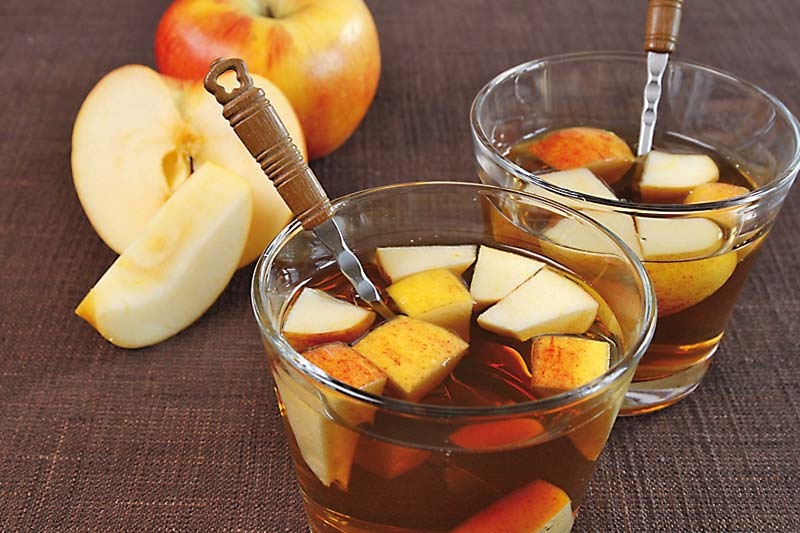 Apfelbowle Rezept
