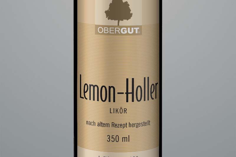 Lemon-Holler-Likör
